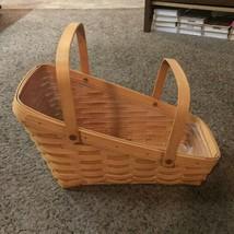 2000 Longaberger Large Vegetable Basket 15202 Gently Used - $34.99