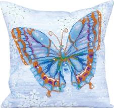 Diamond Dotz Blue Butterfly Pillow 5D Diamond Painting Facet Art Kit - $27.95