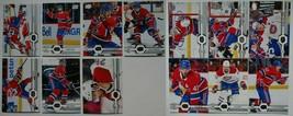 2019-20 Upper Deck UD Montreal Canadiens Series 1 & 2 Team Set 13 Hockey... - $4.99