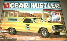 AMT Gear Hustler Chevy El Camino Rugged Plastic Model Car Kit #1096 1/25... - $25.19