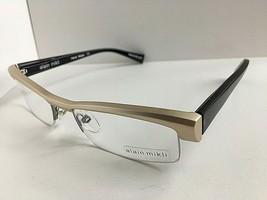 New ALAIN MIKLI A 0666 11 54mm Matte Silver Semi-Rimless Eyeglasses Frame - $349.99