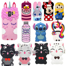 Lovely 3D Cartoon Unicorn Silicon Phone Case For Samsung Galaxy S6 S7 Ed... - $9.98
