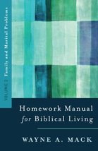 A Homework Manual for Biblical Living: Family and Marital Problems (Home... - $6.89