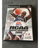 NCAA March Madness 2005 (Sony PlayStation 2, 2004) Complete With Box And... - $3.99