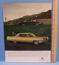 Vintage Magazine Ad for Cadillac from General Motors Trade Old for a New One - $5.93