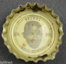 Vintage Coca Cola NFL Bottle Cap Cleveland Browns Mike Howell Coke King Size - $4.99