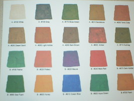 B160-32 Patina Concrete Stain Concentrate 1 Qt. Makes 5 Qts. Water-Based Stain image 2
