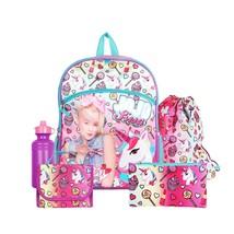 "Nickelodeon JoJo Siwa Pink 16"" Backpack School Essentials Set for Girls - $47.08"