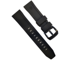 Luminox Watch Band Series 5020 Black Rubber 24mm Replacement Strap FP502... - $54.45