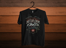 CUSTOM AFFLICTION Men t-Shirt LIVE FAST  S M L XL 2XL - $14.00+