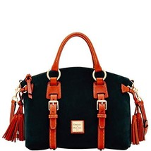Dooney & Bourke Nubuck Bristol Satchel Black