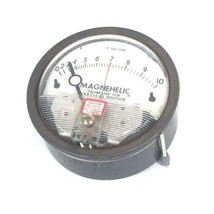DWYER 12-167009-00 MAGNEHELIC PRESSURE GAUGE 15 PSIG MAX, 0-10, 1216700900
