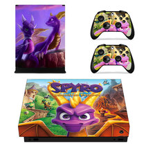 Spyro decal Xbox one X Skin for Xbox Console & 2 Controllers - $15.00