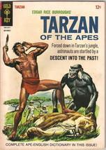 Tarzan Comic Book #154, Gold Key Comics 1965 FINE - $13.54