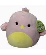 """2021 Squishmallow 12"""" Pink & Yellow Swan Easter Chick """"Harmony""""Rare NWT - $29.99"""