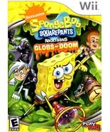 Wii - Sponge Bob Squarepants - Globs of Doom - $9.90