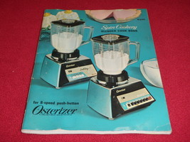 1968 (06/1968) Osterizer Spin Cookery Blender Cook Book For 8-Speed Push... - $18.69