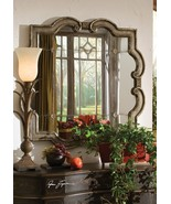 "NEW 36""  AGED SILVER BLACK UNDERTONES BEVELED WALL ANTIQUED MIRROR TUSCA... - $424.60"