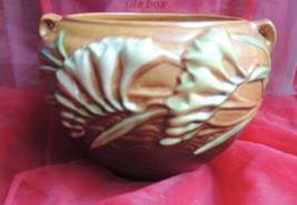 Very Cute Vintage Roseville Pottery Jardiniere Freesia Pattern Bowl - $200.00