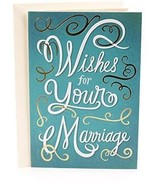 Hallmark Mahogany Wedding Greeting Card (Wished For Your Marriage) - $13.47