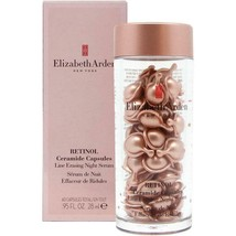 Elizabeth Arden Retinol Ceramide Line Erasing Night Serum 60 Caps ~ Very Fresh! - $54.33