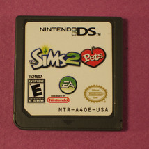 The Sims 2: Pets (Nintendo DS, 2006) - Cart Only - $6.05