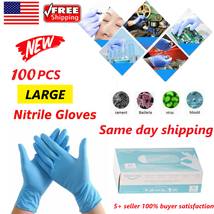 1000PCS (Case) Black Nitrile Gloves 6mil  *SAME DAY QUICK SHIPPING* XLARGE - $296.99
