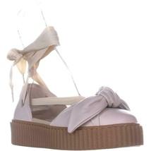 Puma Fenty Bow Creeper Sandal Lacet Plat Sandales, Rose Tinte , 9.5 Us/ ... - $83.27