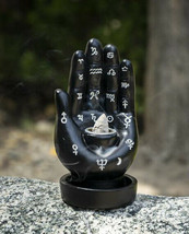 Wicca Black Fortune Teller Chirology Palmistry Hand Palm Backflow Incens... - $19.99
