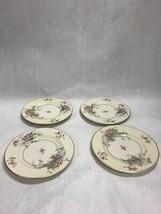 Vintage Theodore Haviland Apple Blossom China 4 Pcs Bread Plate 6.5 Inch - $17.36