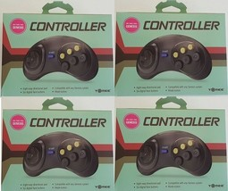 4 lot NEW Controller Game Control pad for Sega Genesis made by Tomee new... - $18.94