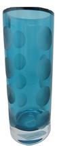 "Lenox Kate Spade New York Bonita Street 10"" Turquoise Blue Large Round Vase - $99.99"