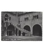 Italy Verona Scala Della Ragione Palace Stairs Giani Ferrari Glossy Postcard 4X6 - $4.99
