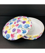 Formalities Braum Sweet Pea Chintz Collection Jewelry Trinket Box Candy ... - $29.69