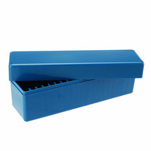 25x9x7cm Blue Storage Tool Box Case Holds 20 Individual Certified PCGS N... - $13.49