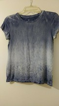 American Eagle Outfitters Soft&Sexy Blue washed treated t-shirt S/P/CH - $12.00