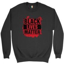 Black Lives Matter Sweatshirt Civil Rights Stop Police Brutality Crewneck - $20.22+