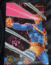 1995 Flair Prints Marvel Annual Cyclops X-MEN 6 1/2 X 10 - $2.97