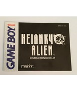Vintage Nintendo Heianky Alien Game Boy Manual Only - $5.99