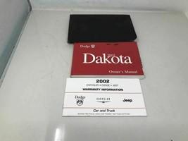 2002 Dodge Dakota Owners Manual Case Handbook OEM Z0B80 - $14.56
