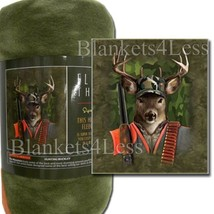 JP Imports Hunting Buckley Fleece Throw Signature Collection - $371,28 MXN