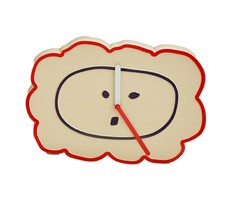 Brunch Brother Wall Clock Non-Ticking Silent Decorative Modern Clock (Lion) image 1