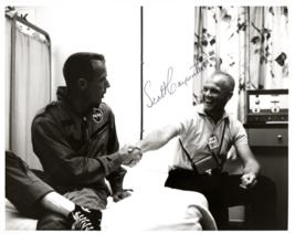 Signed (by Scott Carpenter) Photograph of John Glenn and Scott Carpenter - $100.00
