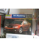 Revell 1999 Ford Mustang Cobra Hardtop 1/25 scale - $29.99