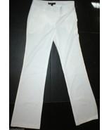 New Womens 6 Elizabeth and James Office Slacks Pants Tall White Trouser - $265.00
