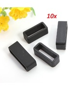 10 Pcs Watch Strap Loop Keeper 18mm, 20mm, 22mm, 24mm, 26mm, 28mm, 30mm,... - $9.99+