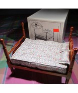 Holly Hobbie 4-Poster Bed Set DOLLHOUSE Miniature mLn - $22.75