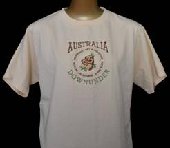 Vintage 90s Australia T-shirt Throwback Souvenir Tee Embroidered Mom Tee... - $24.99