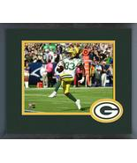 "Aaron Jones 2018 Green Bay Packers ""TD"" -11x14 Team Logo Matted/Framed P... - $42.95"