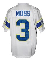 Randy Moss #3 Dupont High School Men Football Jersey White Any Size image 1